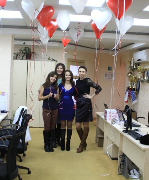 День Святого Валентина у компанії ДЕН