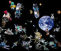 Прибирання сміття на Земній орбіті